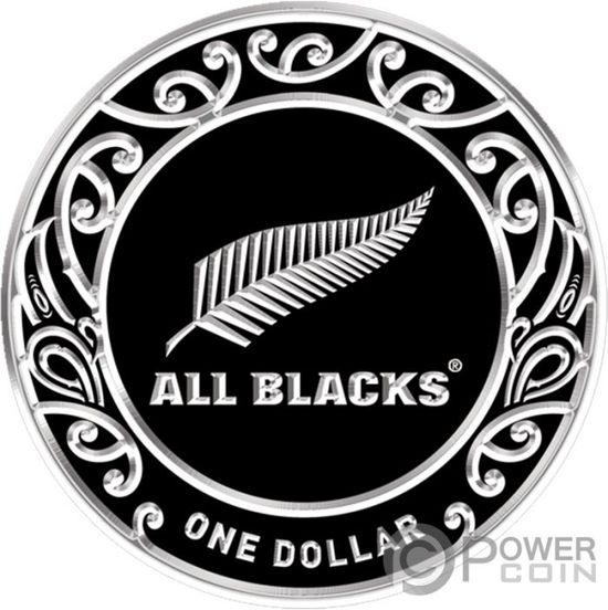 Монета «ALL BLACKS» Новая Зеландия 2019